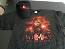 THE MUMMY Tomb of the Dragon Emperor PROMO Movie Shirt & Hat L Free Ship 2008