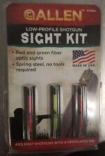Allen Low Profile Shotgun Sight Kit Remington 12 Gauge Benelli Browning NEW