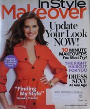 BROOKE SHIELDS Fall 2008 In Style Makeover Magazine