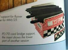 Scalextric anciens 2 supports pour pont années 60s
