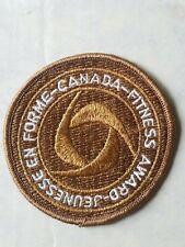 Vintage Award Of Bronze Canada Fitness Jeunesse En Forme Award