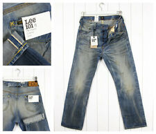 NEW LEE 101B  JEANS 13oz  SELVEDGE STRAIGHT LOOSE FIT Vintage W32 //  W31/L32