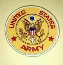 Vintage United States Army Embroidered Motorcycle Patch 3""