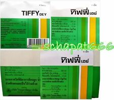 12 Panel TIFFY DEY Symptomatic Relief Common Cold Associated Nasal Congestion