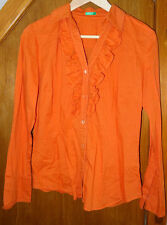 Benetton Orange Shirt 10