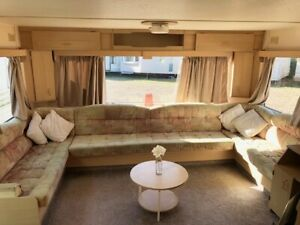 LOVELY STATIC CARAVAN DELTA NORDSTAR  32 X 12 2 BED (HEATED THROUGHOUT)