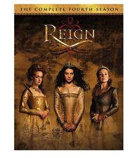 REIGN  - COMPLETE SEASON 4 - DVD - Region 1 - sealed