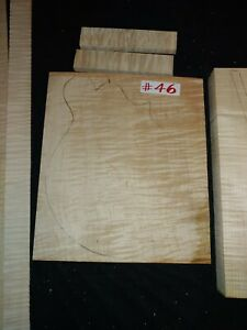 Curly Maple For Mandolin Making
