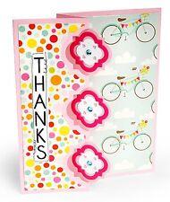 Sizzix Framelits Triple Playful Flip-its Card set #659641 Retail $29.99 15-pk!!!
