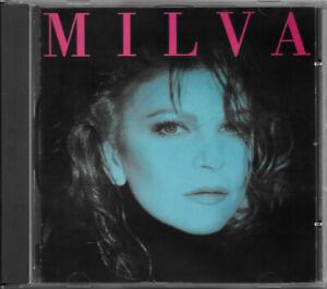 "MILVA CD ""MILVA"" (OMONIMO) 1988 RICORDI CDMRL 6383 NO BARCODE RARO"