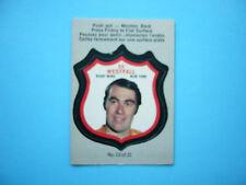 1973/74 O-PEE-CHEE PLAYER CREST INSERT LOGO NHL HOCKEY CARD #13 ED WESTFALL OPC