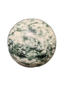 Beautiful Tree Agate Sphere Healing Energy Reiki Quartz Mineral Gemstone Tac1