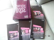 COFFRET 4 DVD TCM LA PANTHERE ROSE   I59