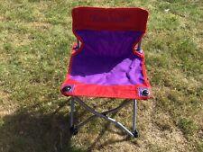 Gelert 'Kool Kids' Red/Purple Fold up Chair Bag Camping Outdoor FUT-146