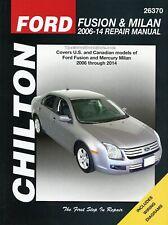 Ford Fusion, Mercury Milan Repair Manual 2006-2014