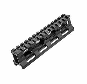 "UTG Super Slim Picatinny Riser Mount, 1"" Height, 13 Slots"