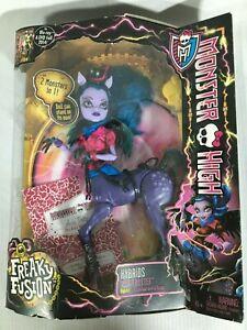 Mattel 2013 Monster High Freaky Fusion: Avea Trotter Hybrids Doll