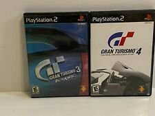 Gran Turismo 3 and 4 - Grand (PlayStation 2, 2002) PS2 Complete lot