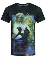 Star Wars Return Of The Jedi Sublimation Men's T-Shirt