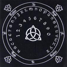 Celtic Embroidered Velvet Pendulum Mat - Detailed artwork