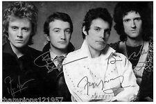 QUEEN ++Autogramme++ ++KULT Rock Gruppe++