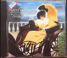Charles DUTOIT Signiert OFFENBACH Gaite parisienne Cancan GOUNOD Faust Ballet CD