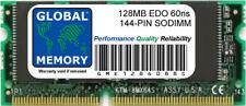 128MB 60ns 144-PIN EDO SODIMM MEMORY RAM FOR LAPTOPS/NOTEBOOKS