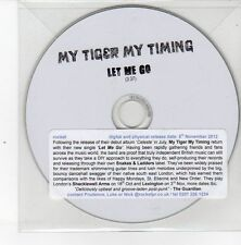 (DS446) My Tiger My Timing, Let Me Go - 2012 DJ CD