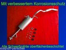 Abgasanlage Auspuff Endtopf Endschalldämpfer Suzuki Vitara 1.6 (3-Türer) + Kit