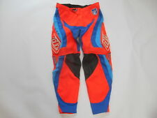 TROY LEE MOTOCROSS OFFROAD DIRTBIKE RIDING GEAR PANTS 32 ATV QUAD ORANGE MX KTM