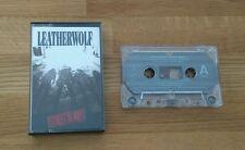 Leatherwolf Street Ready UK Inlay USA Cassette Album Island Heavy Metal Rock