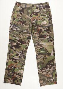 Under Armour ArmourVent NFZ Forest Camo Field Pants 1328537-940 Sz 34x32