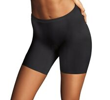 Maidenform 2060 Shapewear Sleek Smoothers Boyshort Medium Black