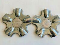 G Racing Wheels Chrome Custom Wheel Center Cap Caps (1) # C-064 EACH