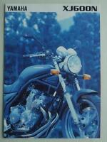 YAMAHA XJ600N Motorcycle Sales Brochure c1997 #LIT-3MC-0107010-97E