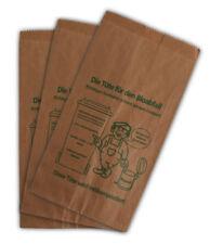 100 Bioabfalltüten 20+16x36cm braun Papier Bio Müllbeutel Biobeutel Küche Abfall