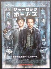 ORIGINAL JAPANESE B5 CHIRASHI POSTER SHERLOCK HOLMES,2010(10X7-1/2 Inch)