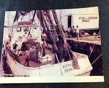 Vintage ICONIC Photograph  Gorton's Seafood Gloucester MA Historic Fish - L19