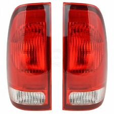 Taillights Taillamps Rear Brake Lights Pair Set NEW for Ford F-Series Truck