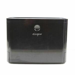 Discgear 100 CD DVD Blu-Ray Disc Selector Black Organizer Storage