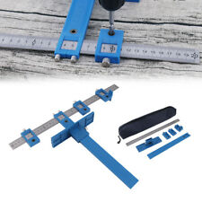 Punch Locator Drill Guide Sleeve Hardware Jig Pull Jig Wood Drilling Dowel + Bag