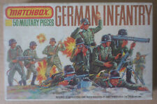MATCHBOX 1/72  P-5003  ** GERMAN INFANTRY. 50 PIECES **  NEUF. MINT IN BOX.