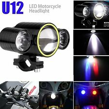 2pcs U12 CREE Motorcycle Motorbike ATV LED Headlight Fog Spot Light Driving Lamp