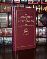 The Declaration of Independence Jefferson Deluxe Hardcover Pocket Collectible