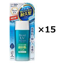 Kao Biore UV Aqua Rich Watery GEL Sunscreen Spf50 PA 90ml 2017 2pcs