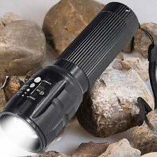 Mini Bright 6000LM CREE T6 Flashlight Zoomable 3*AAA Torch lamp Aluminum Alloy