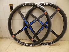 Spinergy Rev X Carbon Fiber Tubular Road Wheelset Wheels Shimano Sram