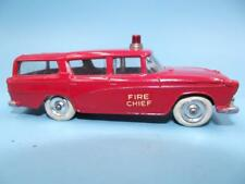 Vintage DINKY No.257 FIRE CHIEF Nash Rambler 4 inches long EXCELLENT Pre- Owned