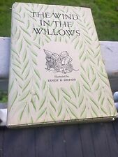 The Wind In The Willows Kenneth Grahame 1954 HCdj Charles Scribner VG