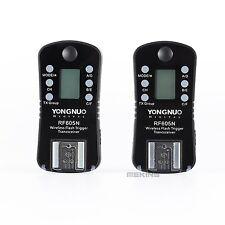 2x YONGNUO RF 605 RF605N Wireless Flash Trigger for Nikon D7100 D7000 D5100 D500